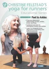Yoga for Runners: Feet to Ankles Workout - Collage Video