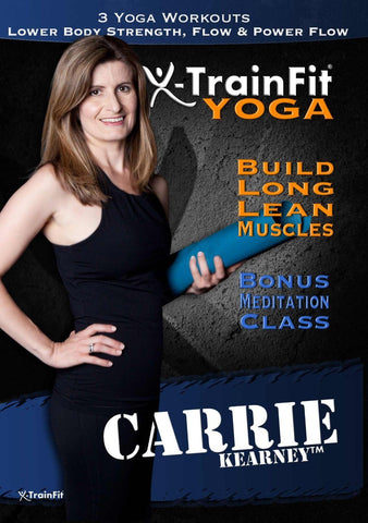 XTrainFit: Yoga with Carrie Kearney