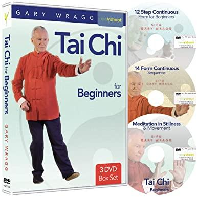 Tai Chi for Beginners Box Set with Gary Wragg - 3 DVD - Collage Video