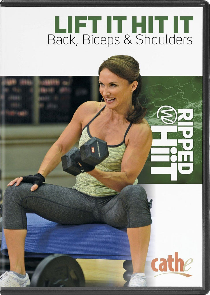 Cathe Friedrich's Ripped with HiiT: Lift It Hit It Back, Biceps & Shoulders - Collage Video