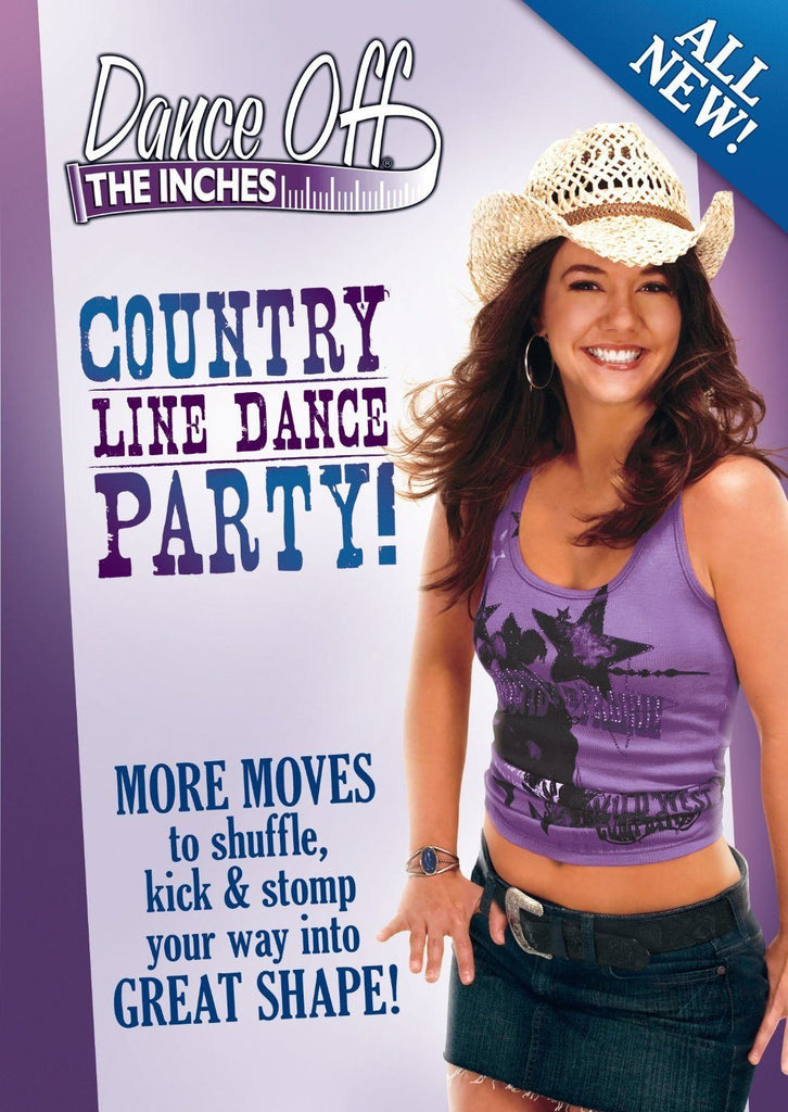 Dance Off the Inches: Country Line Dance Party - Collage Video