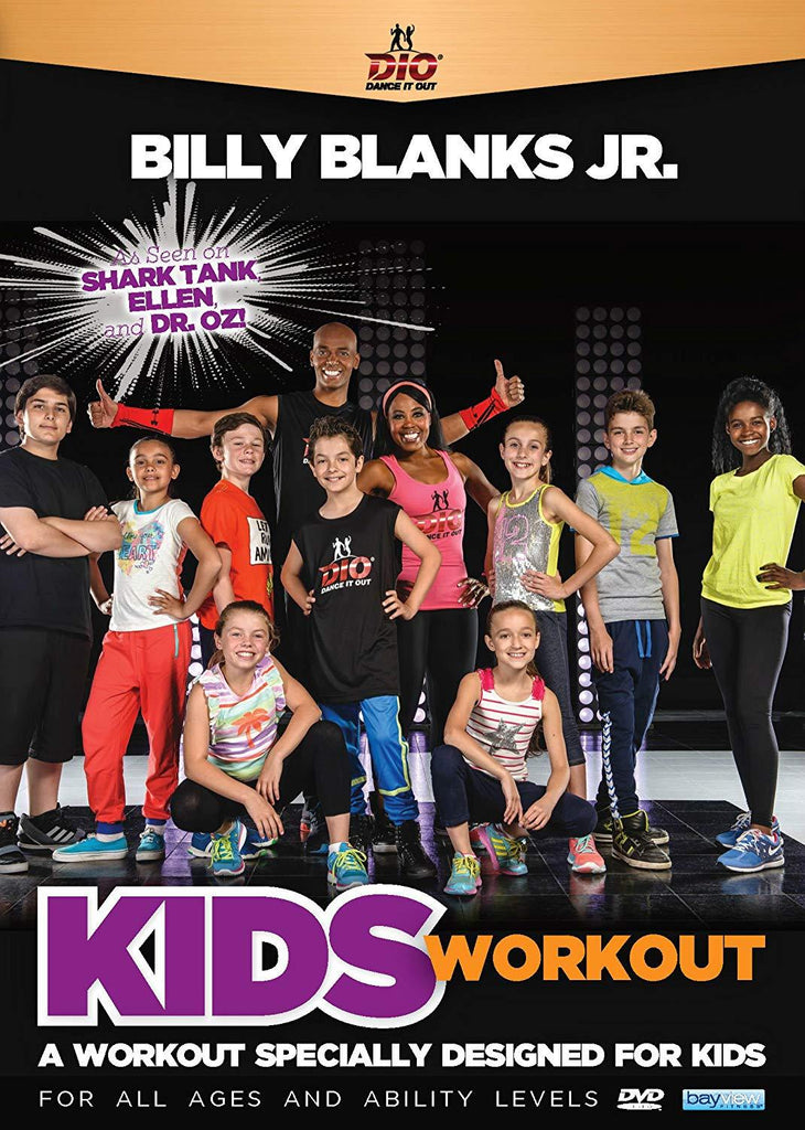 Billy Blanks Jr: Dance It Out - Kids Workout - Collage Video