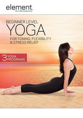 Element: Beginner Level Yoga For Toning, Flexibility & Stress Relief - Collage Video