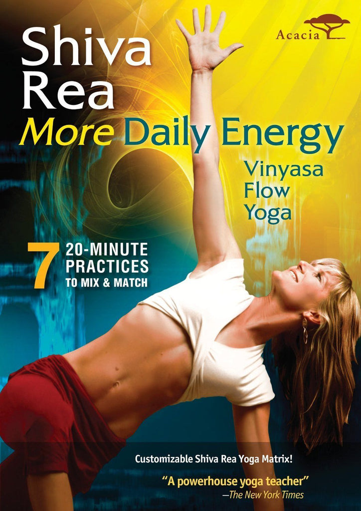 Shiva Rea's More Daily Energy - Collage Video