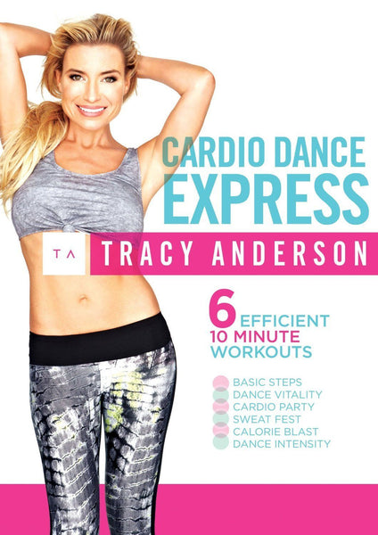 Fox Body For Sale >> Tracy Anderson: Cardio Dance Express – Collage Video