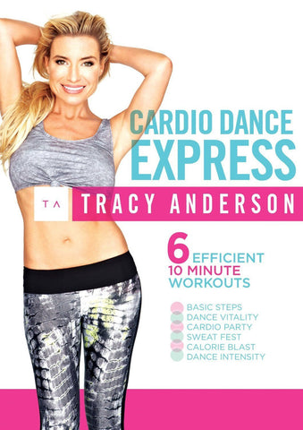 Tracy Anderson: Cardio Dance Express