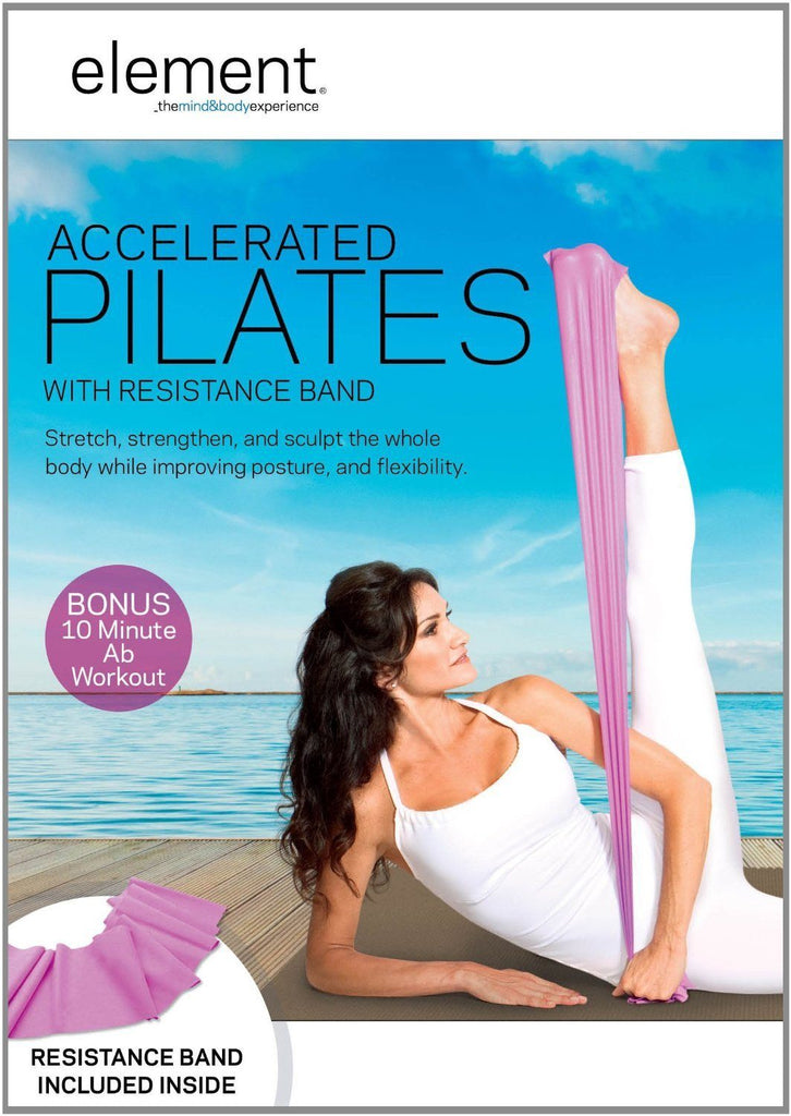 Element: Accelerated Pilates with Band - Collage Video