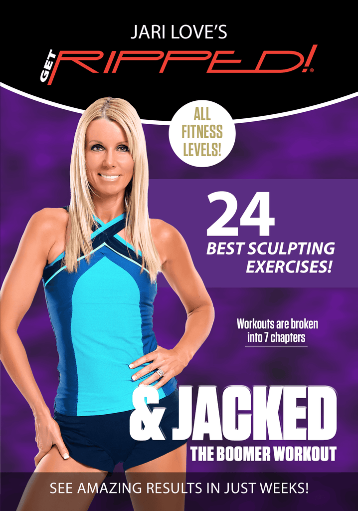 Jari Love's Get RIPPED! & Jacked: The Boomer Workout - Collage Video