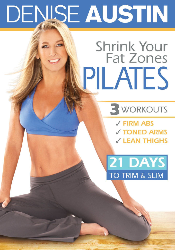 Denise Austin: Shrink Your Fat Zones Pilates - Collage Video