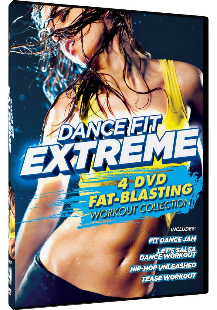 Dance Fit Extreme - 4 Fat Blasting Workouts - Collage Video