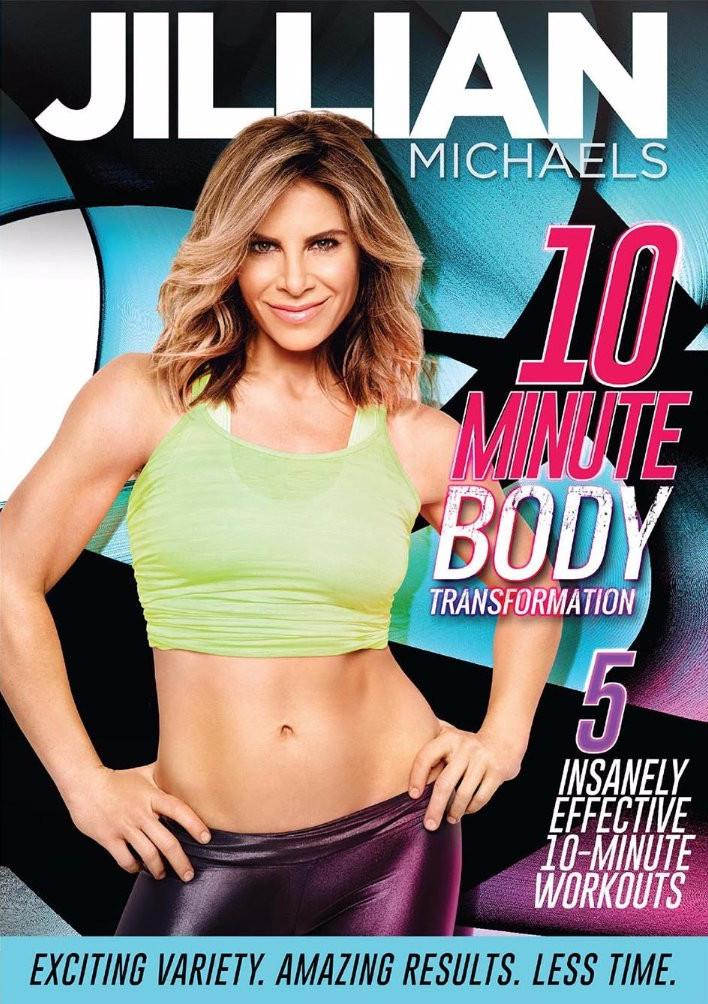 Jillian Michaels: 10-Minute Body Transformation