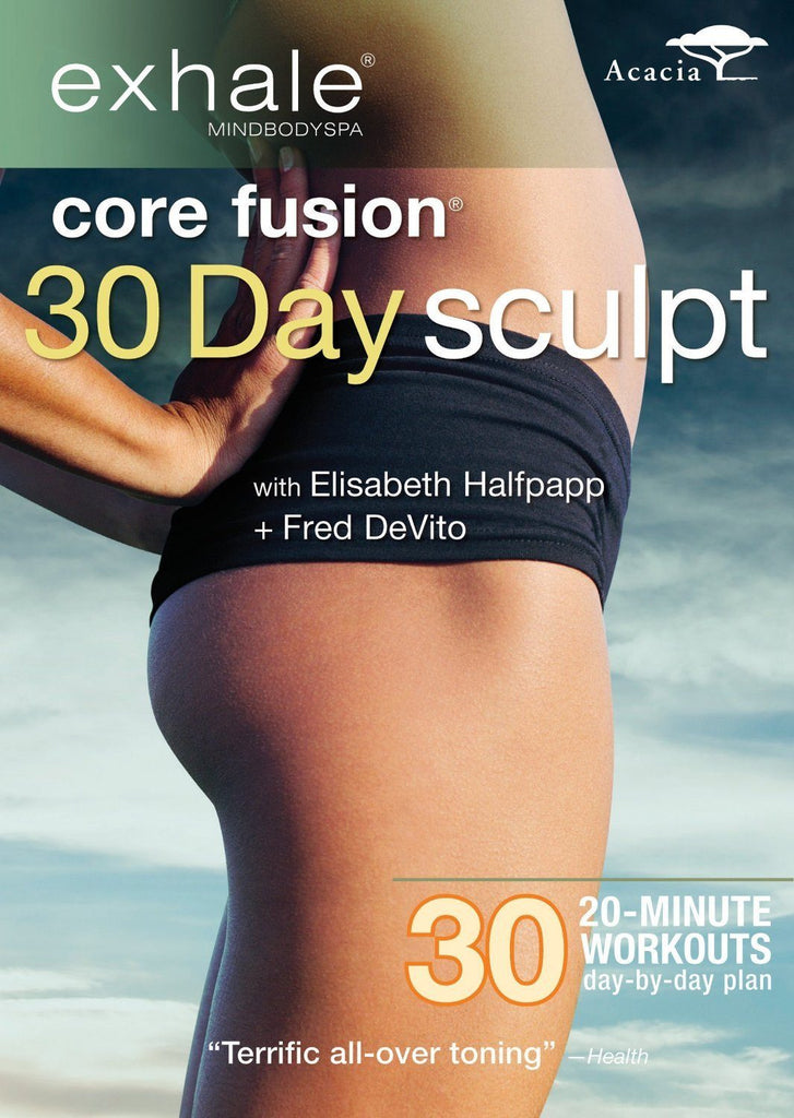 Exhale: Core Fusion 30 Day Sculpt - Collage Video