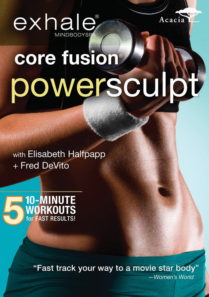 Exhale: Core Fusion  Power Sculpt - Collage Video