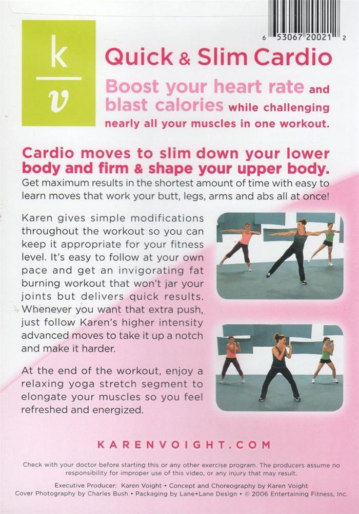 Karen Voight Quick Slim Cardio