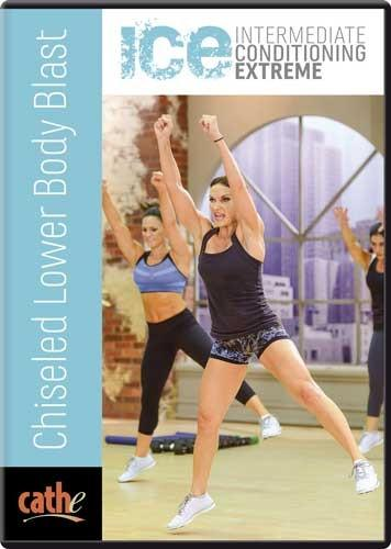 Cathe Friedrich's ICE: Chiseled Lower Body Blast - Collage Video
