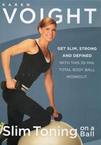 Karen Voight: Slim Toning on a Ball - Collage Video