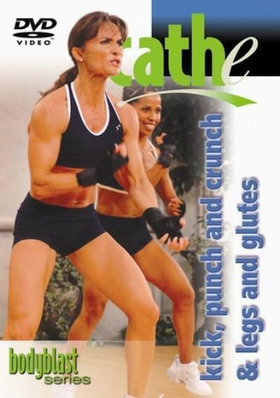 Cathe Friedrich's Kick, Punch and Crunch - Legs and Glutes - Collage Video