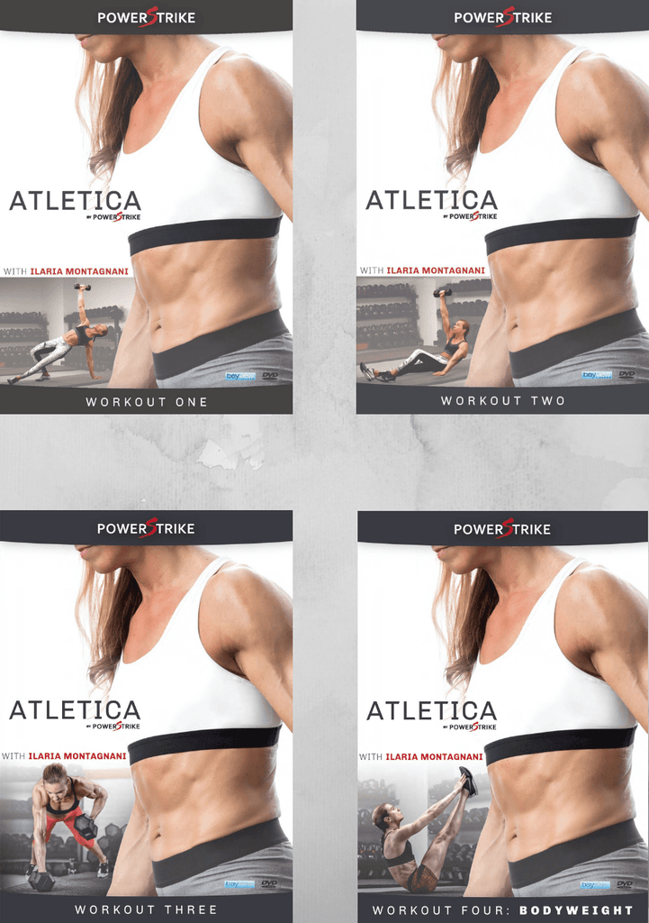 Atletica by Powerstrike: Discount Bundle (Vol. 1 - 4) - Collage Video