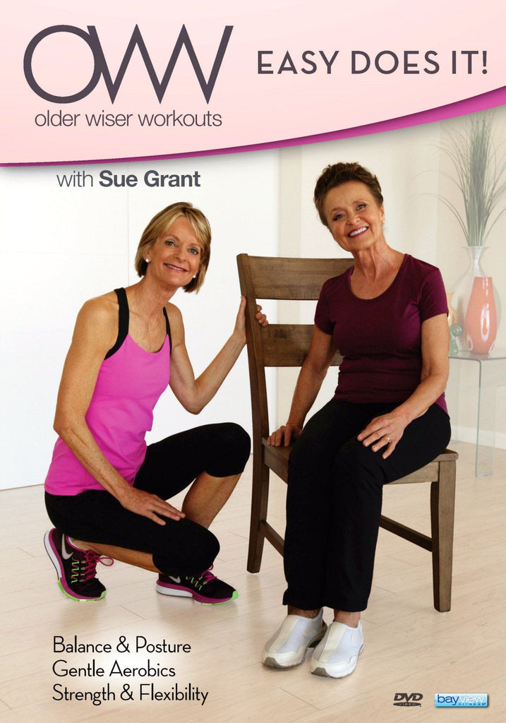 Older Wiser Workouts: Easy Does It - Collage Video