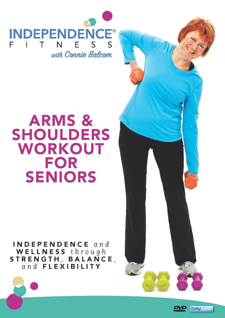 Independence Fitness: Arms & Shoulders Workout For Seniors - Collage Video