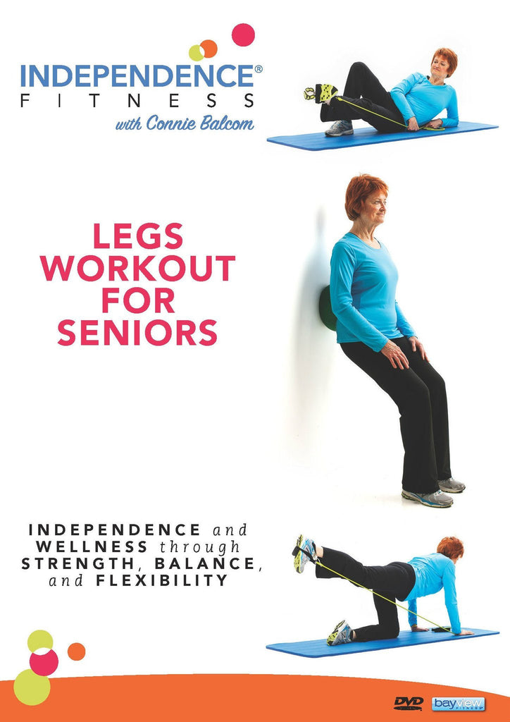 Independence Fitness: Legs Workout For Seniors - Collage Video