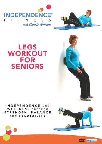 Independence Fitness: Legs Workout For Seniors