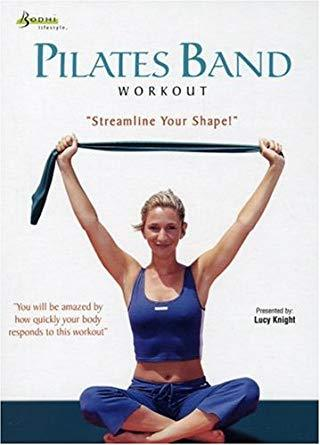 Pilates Band Workout - Collage Video