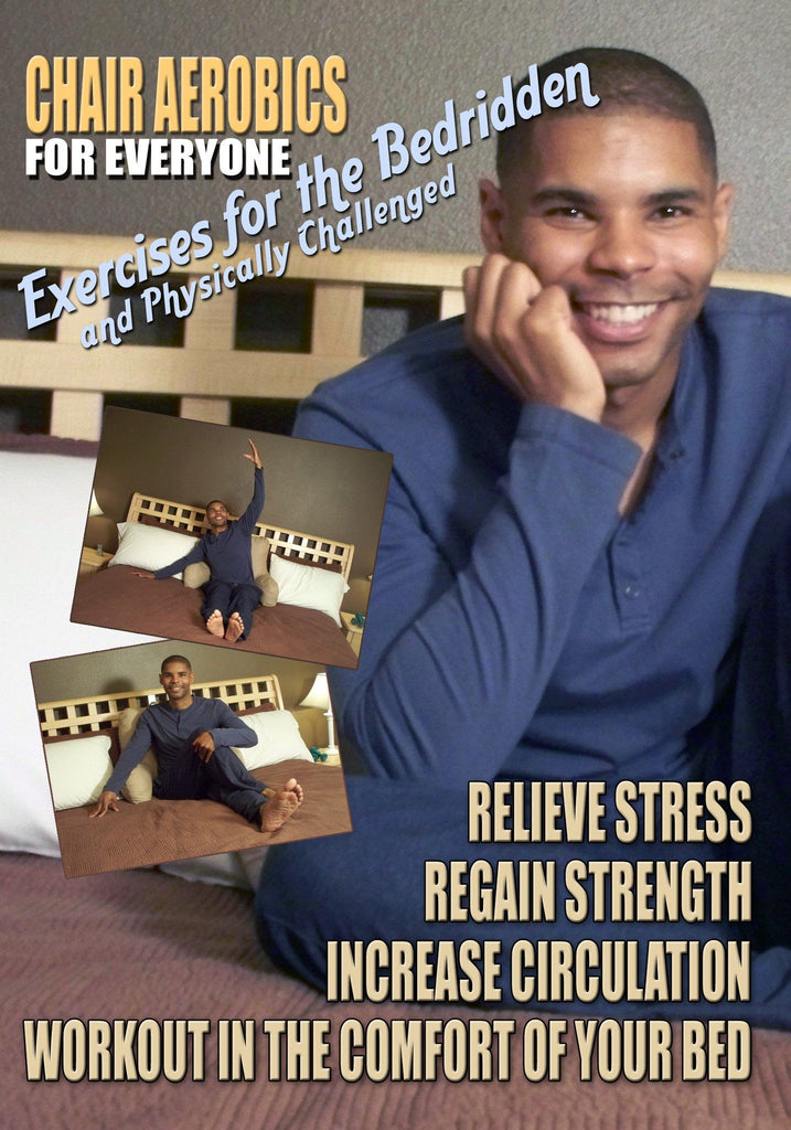 Chair Aerobics for Everyone - Exercises for The Bedridden - Collage Video
