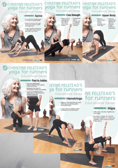 Christine Felstead's Yoga for Runners Bundle - Collage Video