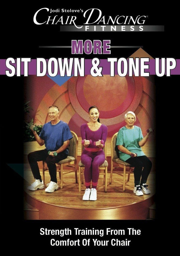 Chair Dancing: More Sit Down and Tone Up - Collage Video