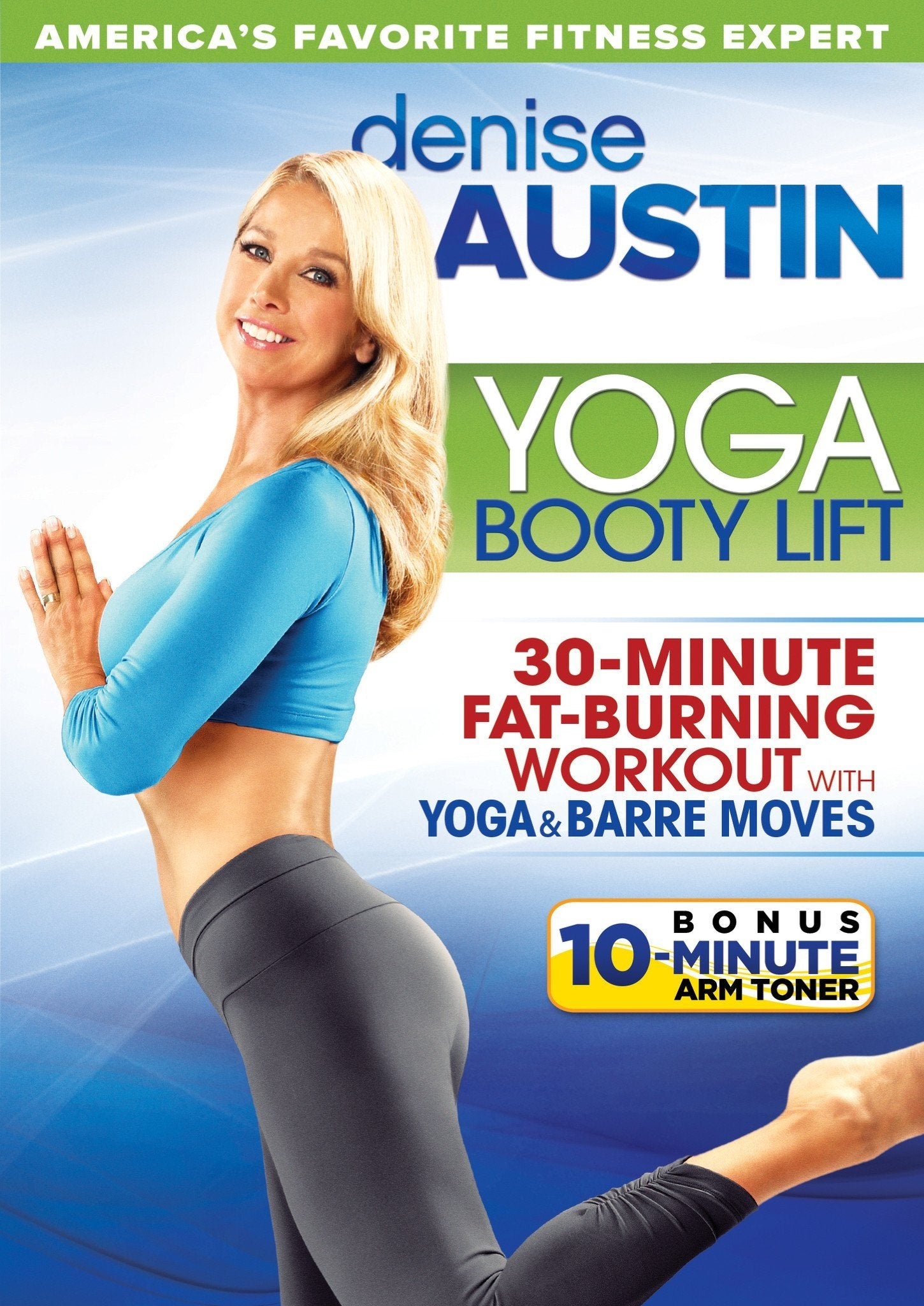 Denise Austin Yoga Booty Lift Collage Video