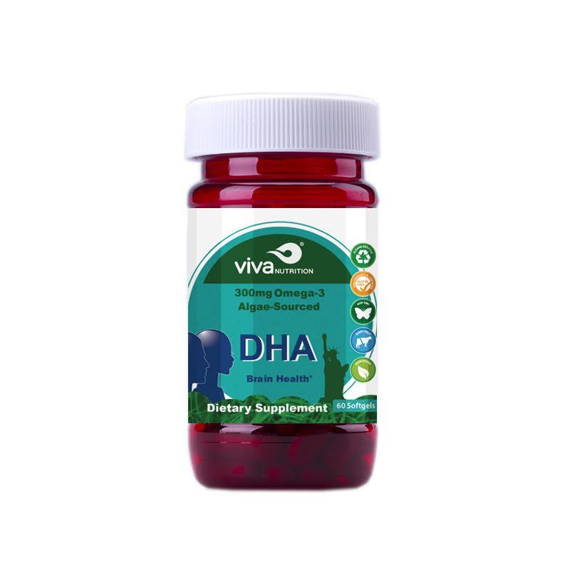 DHA Brain Health Supplements - Collage Video