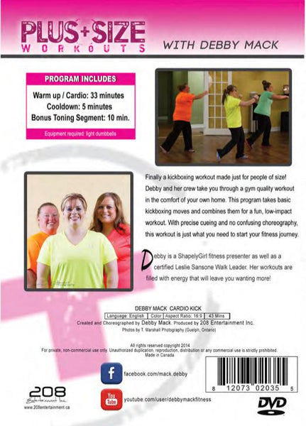 plus size workout routine