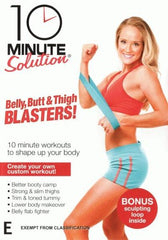 10 Minute Solution: Belly, Butt & Thigh Blasters - Collage Video