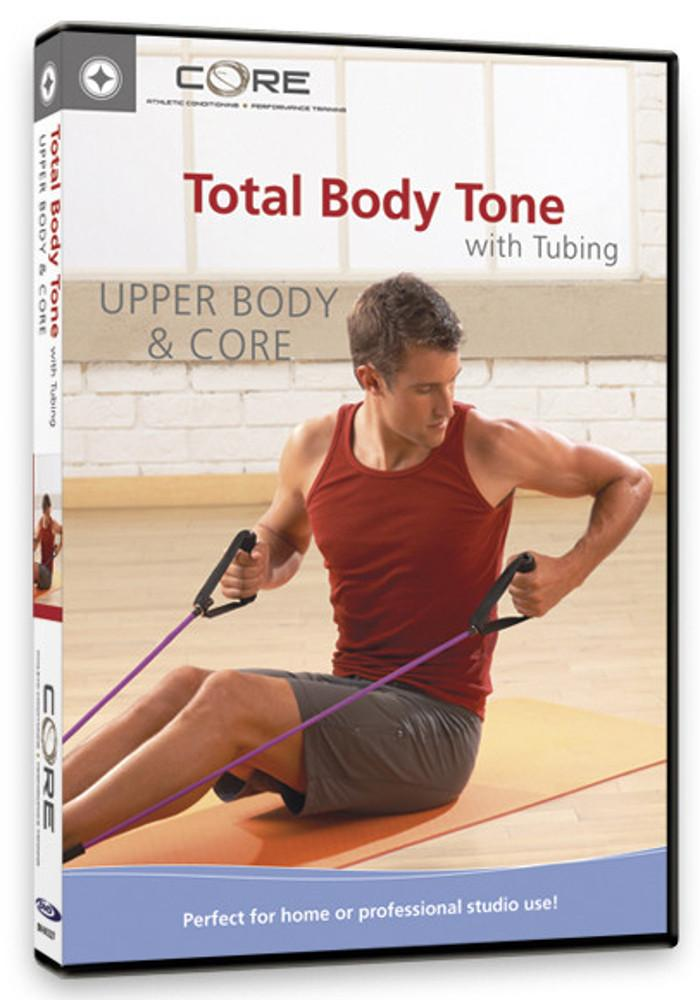 Total Body Tone with Tubing, Upper Body & Core - Collage Video