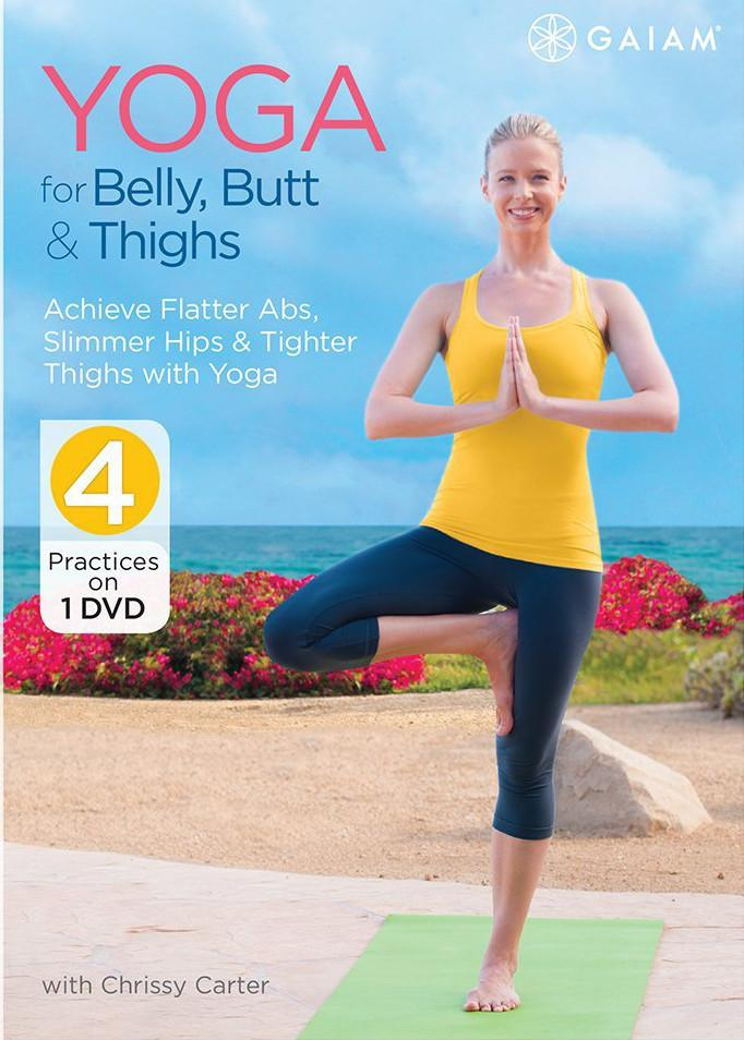 Yoga For Belly, Butt & Thighs with Chrissy Carter - Collage Video