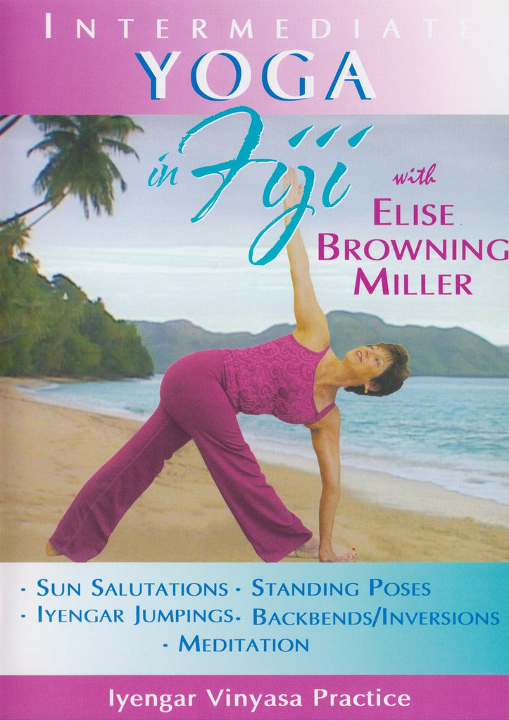 Intermediate Yoga In Fiji With Elise Miller - Collage Video