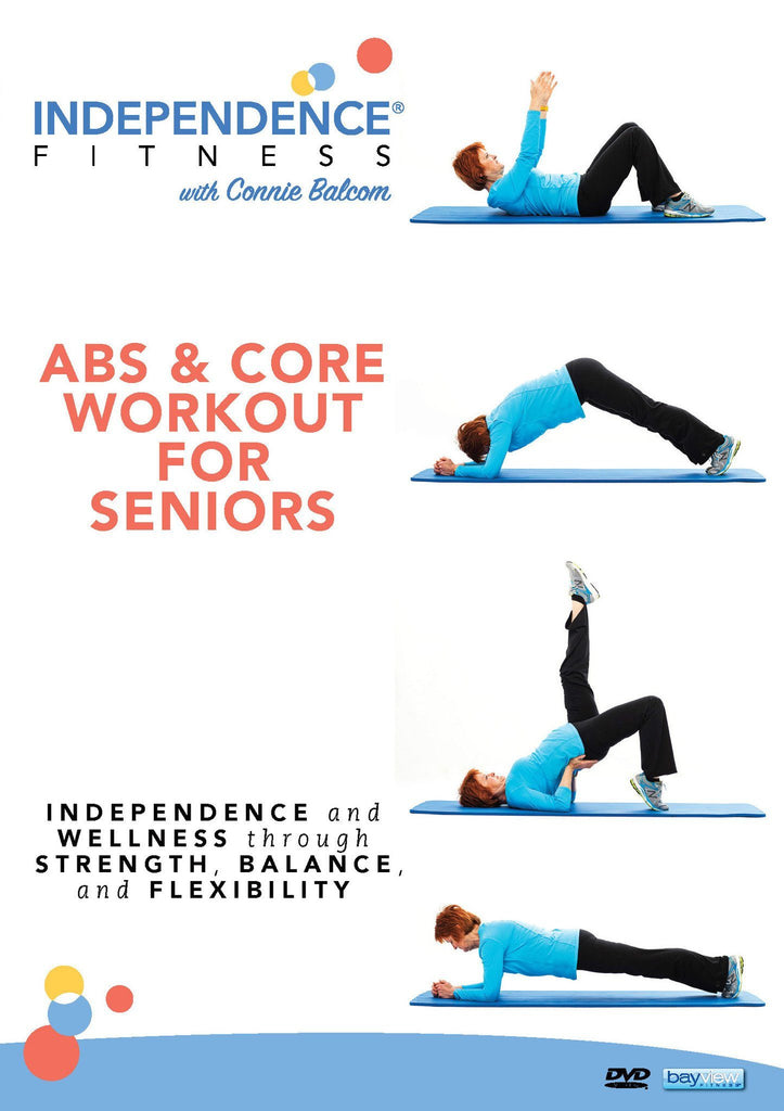 Independence Fitness: Abs & Core Workout For Seniors - Collage Video