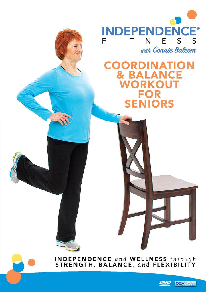 Independence Fitness: Coordination & Balance Workout For Seniors - Collage Video