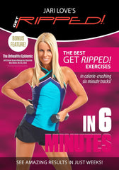 Jari Love's Get Ripped in 6 (2 DVD Set) - Collage Video