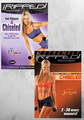 Jari Love Ripped and Chiseled Pack
