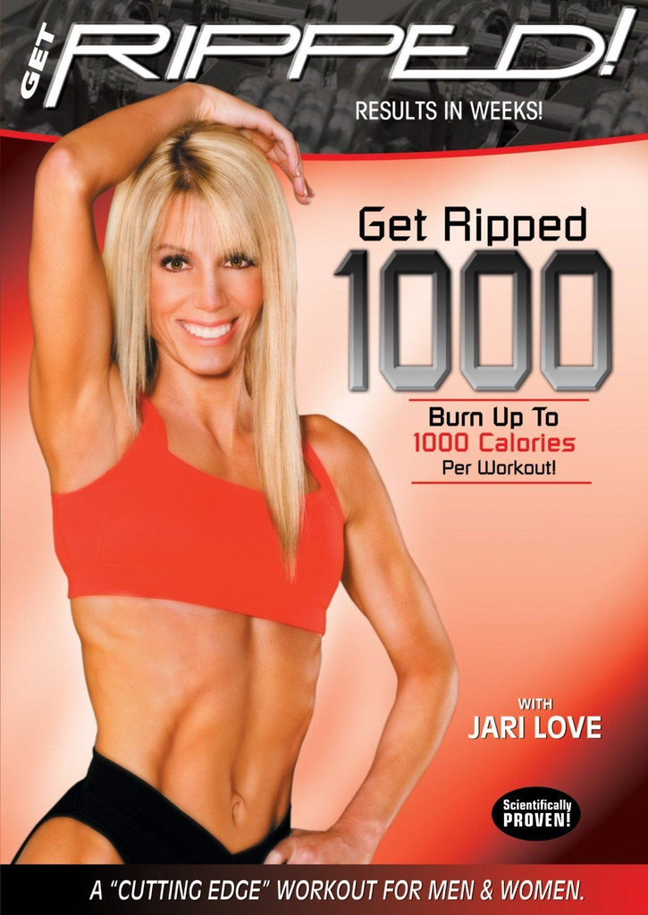 Jari Love's Get Ripped 1000 Workout - Collage Video