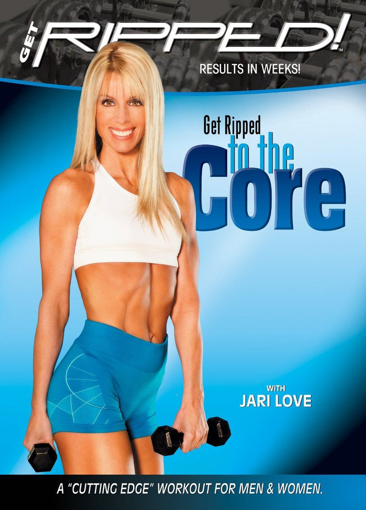 Jari Love's Get Ripped to the Core - Collage Video