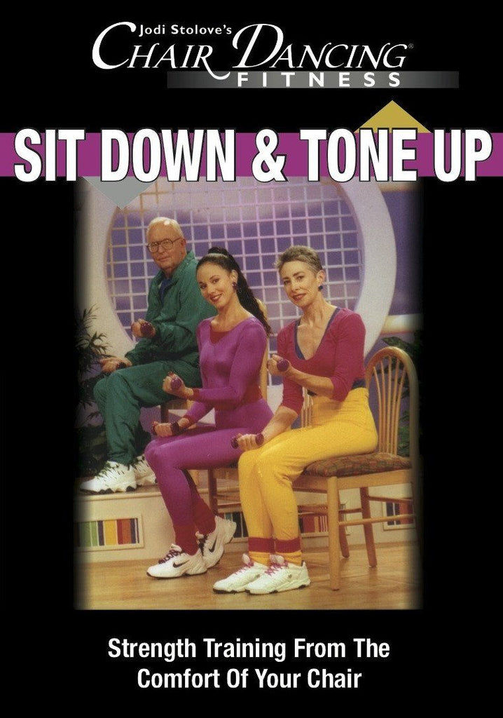 Chair Dancing: Sit Down and Tone Up - Collage Video