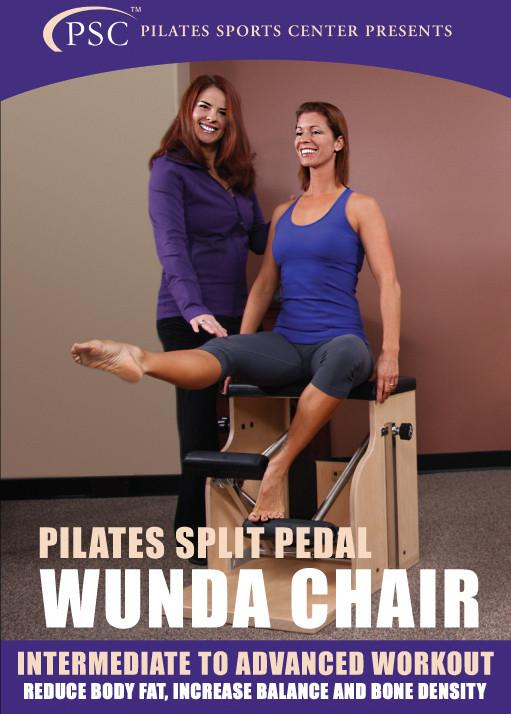 Pilates Split Pedal Wunda Chair Workshop/Workout - Collage Video