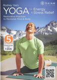 Rodney Yee's Yoga for Energy & Stress Relief - Collage Video