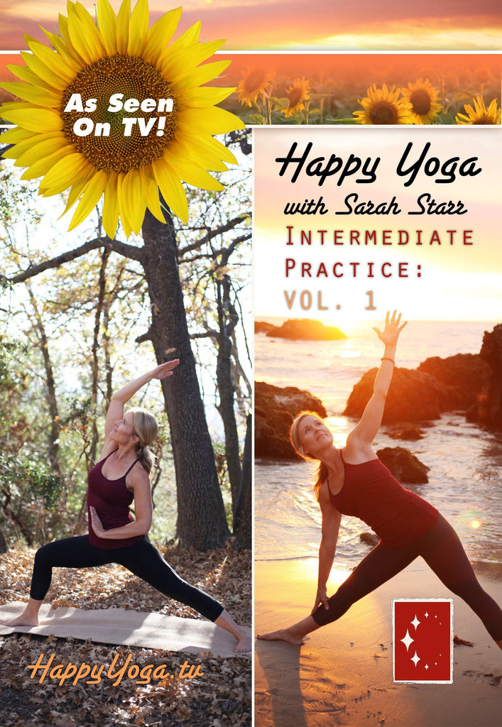 Happy Yoga with Sarah Starr: Intermediate Volume 1 - Collage Video
