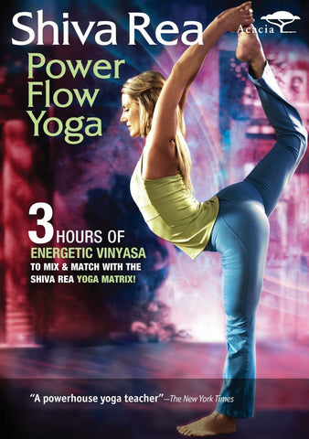 Shiva Rea's Power Flow Yoga