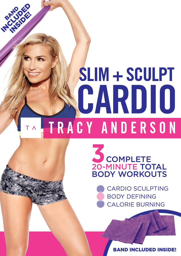 Tracy Anderson: Slim + Sculpt Cardio w/ Band - Collage Video