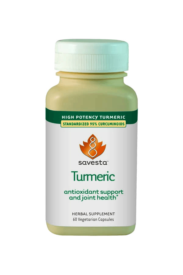 Turmeric - Antioxidant Support & Joint Health (60 tablets) - Collage Video